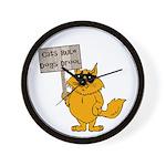 Cat Lover's Wall Clock