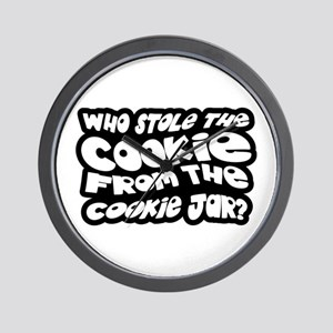 Who Stole The Cookie From The Cookie Jar? Wall Clo