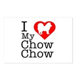 I Love My Chow Chow Postcards (Package of 8)