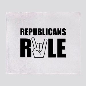 Republicans Rule Throw Blanket