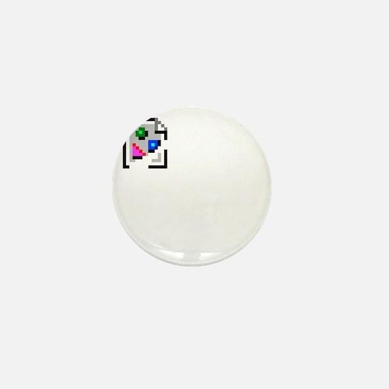 Broken Image Icon Mini Button