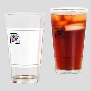 Broken Image Icon Drinking Glass