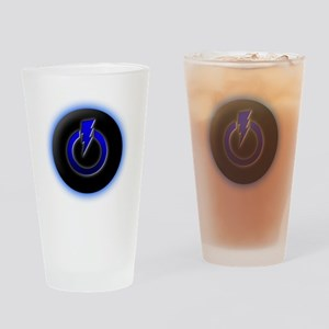 Power Lightning Drinking Glass