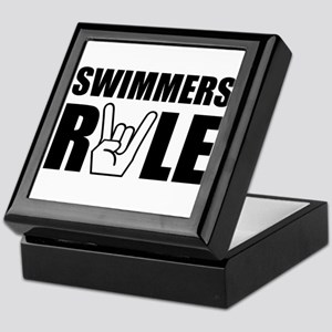 Swimmers Rule Keepsake Box