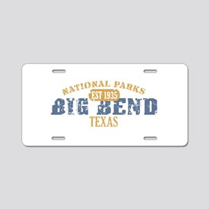 Big Bend National Park Texas Aluminum License Plat