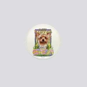 Easter Egg Cookies - Yorkie Mini Button