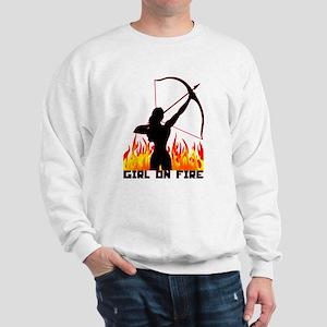HG Girl on fire Sweatshirt