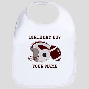 Birthday Boy Football Bib
