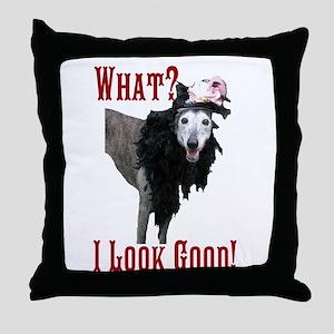 Look Good! Throw Pillow
