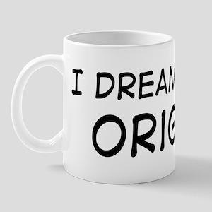 Dream about: Origami Mug