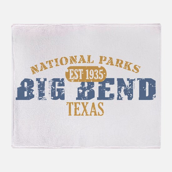 Big Bend National Park Texas Throw Blanket
