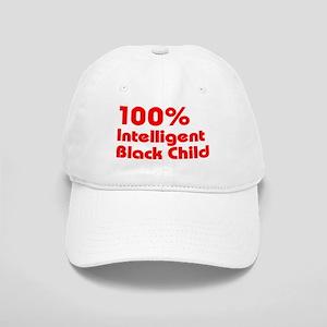100% Intelligent Black Child Cap