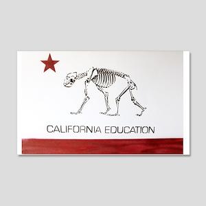 California Education is Almos 22x14 Wall Peel