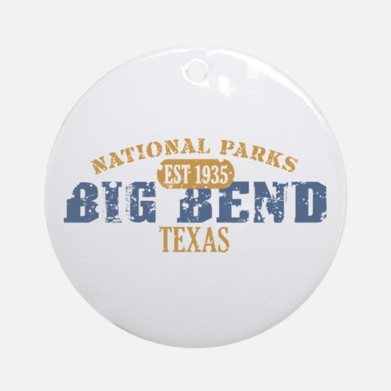 Big Bend National Park Texas Ornament (Round)