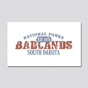 Badlands National Park SD Car Magnet 20 x 12