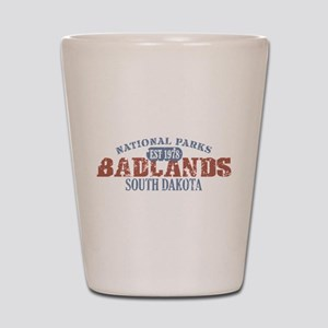 Badlands National Park SD Shot Glass