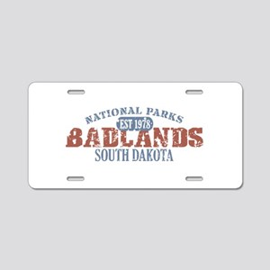 Badlands National Park SD Aluminum License Plate