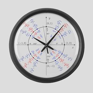 Large Unit Circle Clock