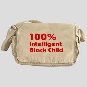 100% Intelligent Black Child Messenger Bag