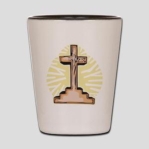 Cross Shot Glass