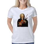 JSBach portrait  with viol Women's Classic T-Shirt