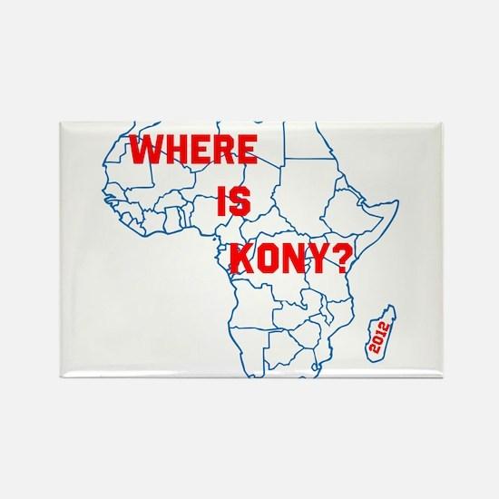 Kony Rectangle Magnet