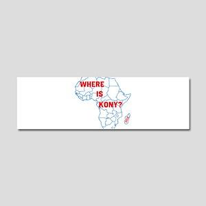 Kony Car Magnet 10 x 3