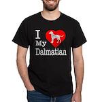 I Love My Dalmatian Dark T-Shirt