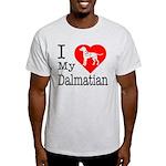 I Love My Dachshund Light T-Shirt