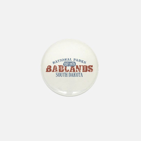 Badlands National Park SD Mini Button