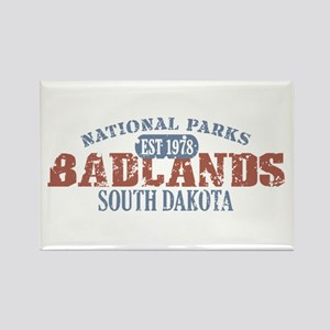 Badlands National Park SD Rectangle Magnet