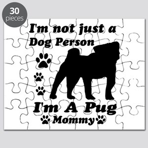 Pug Mommy Puzzle