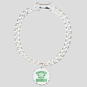 Sexy Irish Charm Bracelet, One Charm