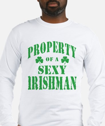 Sexy Irish Long Sleeve T-Shirt