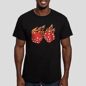 Lucky 7 Men's Fitted T-Shirt (dark)
