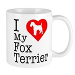 I Love My Fox Terrier Mug