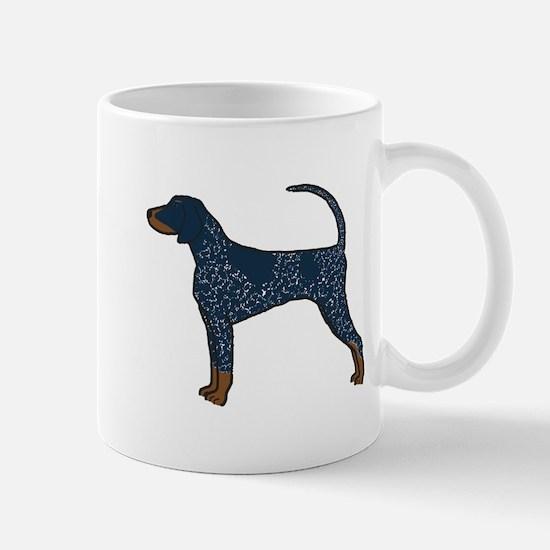 Blue Tick Coonhound Mug