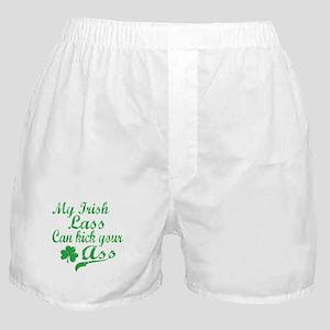 Irish Lass Boxer Shorts