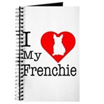 I Love My Frenchie Journal