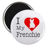 I Love My Frenchie Magnet