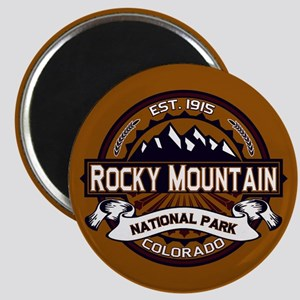 Rocky Mountain Vibrant Magnet