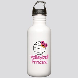 Volleyball Princess Gift Stainless Water Bottle 1.