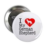 I Love My German Shepherd 2.25