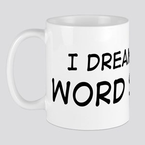 Dream about: Word Search Mug