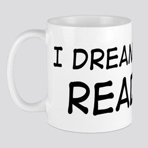 Dream about: Reading Mug