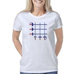 blueswordgrid Women's Classic T-Shirt