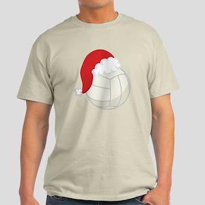 Volleyball Santa Gift Light T-Shirt