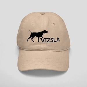 Vizsla Baseball Cap (black silhouetteVIZSLA)