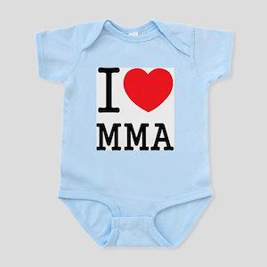 I love MMA Infant Creeper
