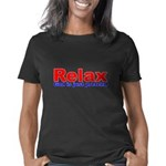 Relax - red white  blue Women's Classic T-Shirt